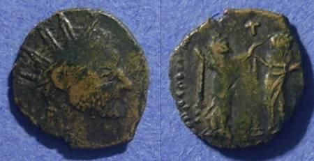 Ancient Coins - Roman Imitative, Radiate Circa 280 AD, AE12