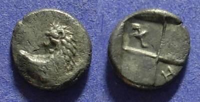 Ancient Coins - Chersonesos Thrace 400-350 BC Hemidrachm