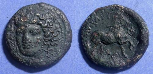 Ancient Coins - Larissa, Thessaly 400-344 BC, AE22