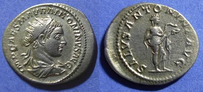 Ancient Coins - Elagabalus 218-222 Antoninianus