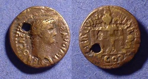 Ancient Coins - Nero 54-68 - Semis - Budget imperial portrait