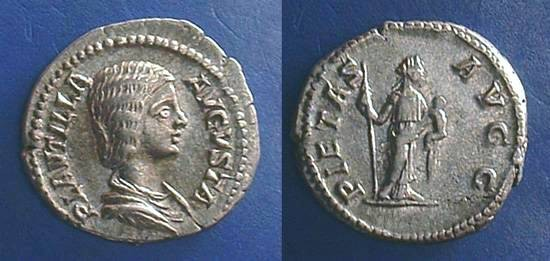 Ancient Coins - Plautilla (Wife of Caracalla)