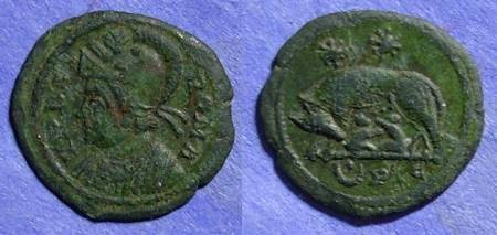 Ancient Coins - Roman Empire, Family of Constantine 332 AD, AE3
