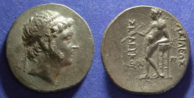 Ancient Coins - Seleucid Kingdom, Seleucos II 246-225 BC, Tetradrachm