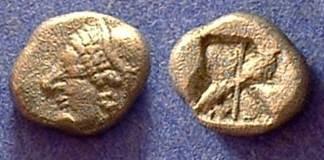 Ancient Coins - Phokaia Ionia - Trihemiobol circa 500B
