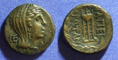 Ancient Coins - Eieirote Republic  234-168 BC AE16
