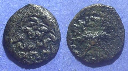 Ancient Coins - Judaea, Antonius Felix 52-59 AD, Prutah