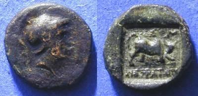 Ancient Coins - Kibrya Phrygia - AE12 - 166-84BC