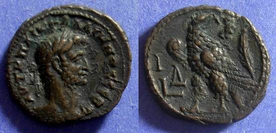 Ancient Coins - Roman Egypt Gallienus 253-268 Tetradrachm