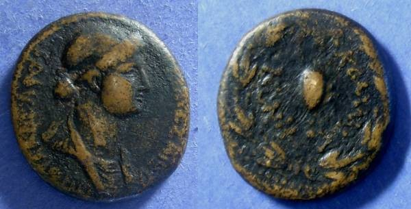 Ancient Coins - Commagene, Iotape (Wife of Antiochos IV) 38-74 AD, AE24