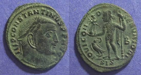 Ancient Coins - Roman Empire, Constantine 307-337 AD, Follis