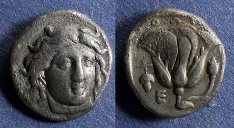 Ancient Coins - Islands off Caria, Rhodes 340-316 BC, Didrachm
