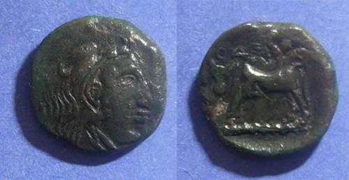 Ancient Coins - Odrysae, Thrace Circa 250 BC, AE18