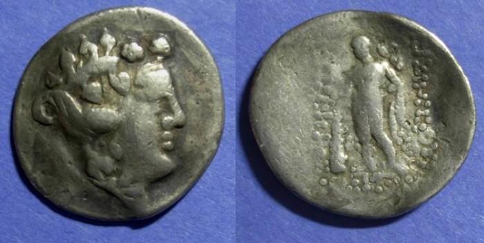 Ancient Coins - Danube Celts, Imitative of Thasos Circa 100 BC, Tetradrachm