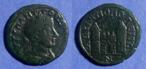 Ancient Coins - Hadrianopolis, Gordian III 238-244 AD, AE26