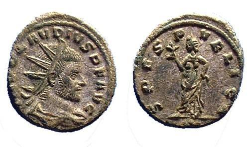 Ancient Coins - Claudius II Gothicus, 268-270 AD  Nice Antoninianus
