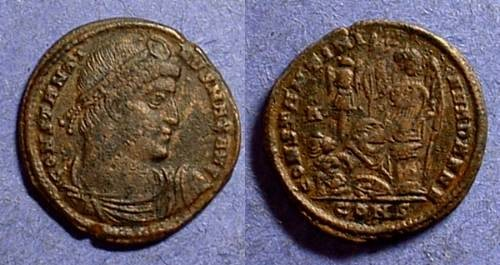 Ancient Coins - Constantine 307-337 - AE 3 - Dafne reverse