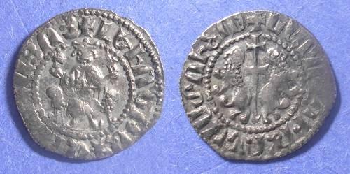 Ancient Coins - Armenia, Levon 1198-1217, Tram