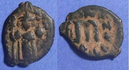 Ancient Coins - Byzantine Empire, Constans II 641-668, Follis