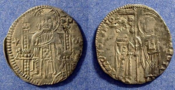Ancient Coins - Venice - Antonio Venier, 1382-1400  AR Grosso