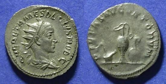 Ancient Coins - Roman Empire, Herennius Etruscus 250/1, Antoninianus