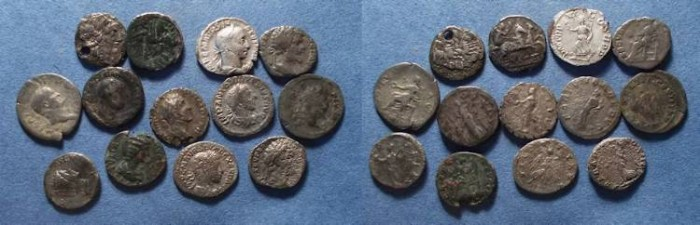 Ancient Coins - Roman Denarii, Republic through mid 3rd Century 100 BC to 235 AD,