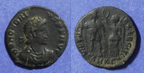 Ancient Coins - Roman Empire, Honorius 394-423, AE3