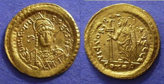 Ancient Coins - Leo 457-474 – Solidus