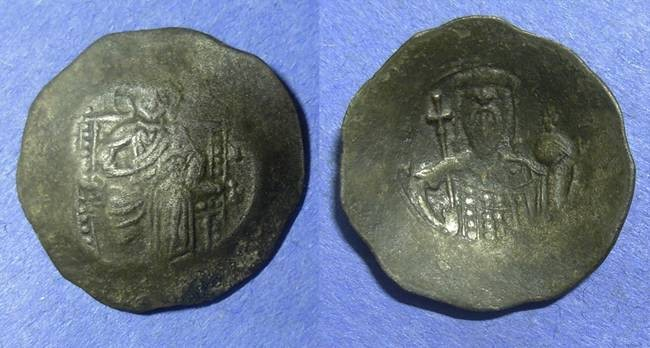 Ancient Coins - Byzantine Empire, Alexius 1081-1118, Trachy