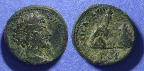 Ancient Coins - Caesarea Cappadocia, Marcus Aurelius 160-181, AE22