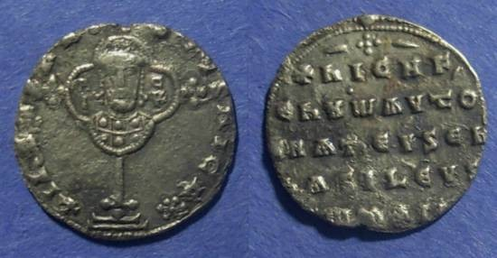 Ancient Coins - Byzantine Empire, Nicephorus II 963-969, Miliaresion