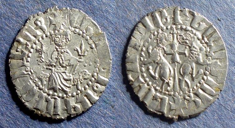 World Coins - Armenia, Levon 1198-1219, Tram