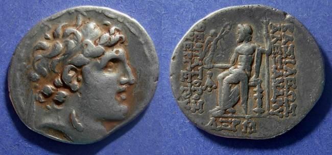 Ancient Coins - Seleucid Kingdom, Alexander I Balas 150-145  BC, Tetradrachm