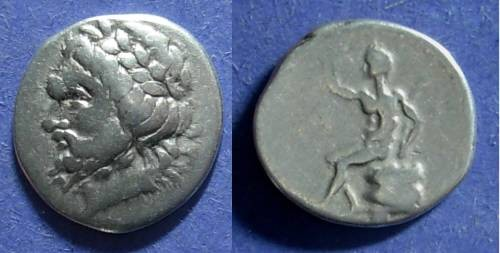 Ancient Coins - Arkadian League, Megalopolis 330-275 BC, Hemidrachm