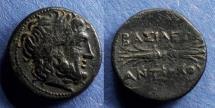 Ancient Coins - Seleucid Kingdom, Antiochos I 281-261 BC, AE19