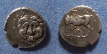 Ancient Coins - Mysia, Parion Circa 350 BC, Hemidrachm