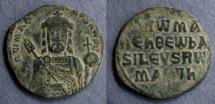 Ancient Coins - Byzantine Empire, Constantine VII with Romanus I 913-959, Follis