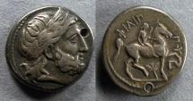 Ancient Coins - Macedonian Kingdom, In the name of Philip II 359-336, Tetradrachm