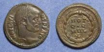 Ancient Coins - Roman Empire, Maxentius 306-312, 1/4 Follis