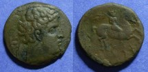 Ancient Coins - Spain, Kese ( Tarraco ) Circa 150 BC, AE26