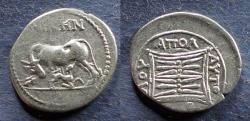 Ancient Coins - Illyria, Apollonia 229-100 BC, Drachm
