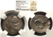 Ancient Coins - Lokris Epizephyroi, Bruttium 350-280 BC, Stater