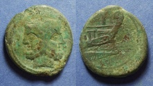Ancient Coins - Roman Republic, Anonymous 169-157 BC, As