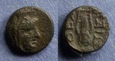 Ancient Coins - Boeotia, Thespiai Circa 210 BC, AE11