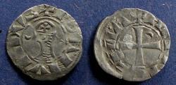 Ancient Coins - Crusader Antioch, Bohemund III 1163-1201, Denier