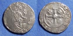 World Coins - Crusader Cyprus, Hugh IV 1324-1359, Silver Gros