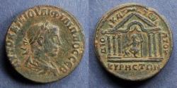 Ancient Coins - Cyrrhestica, Cyrrhus, Philip 244-9, AE28