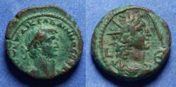 Ancient Coins - Roman Egypt, Gallienus 253-268, Potin Tetradrachm