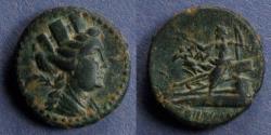 Ancient Coins - Phoenicia, Arados 135-112 BC, AE21