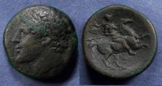 Ancient Coins - Sicily, Syracuse 275-215 BC, AE25